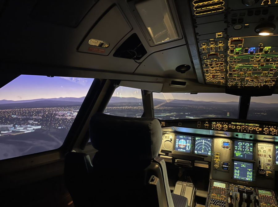 Airbus A330 NEO cockpit